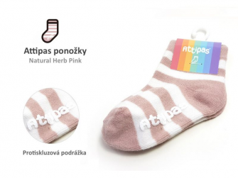 Ponožky Natural Herb, Pink