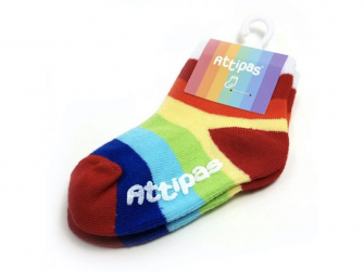 Ponožky Rainbow, White 2