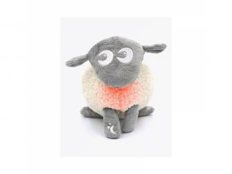Ewan deluxe - uspávací ovečka - šedá