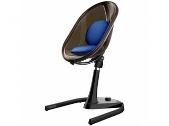 Sada sedacích polštářků do židličky Moon Royal Blue 3