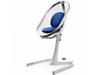 Sada sedacích polštářků do židličky Moon Royal Blue 5