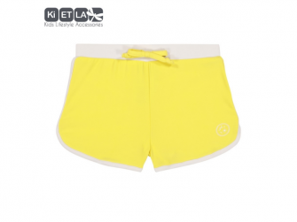 plavky s UV ochranou šortky 18 m, žlutá