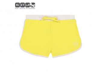 plavky s UV ochranou šortky 3 - 4 roky, žlutá