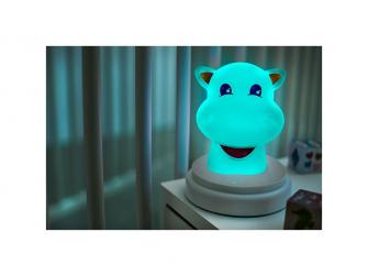 LED noční světlo, hippo 5
