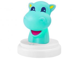 LED noční světlo, hippo 2