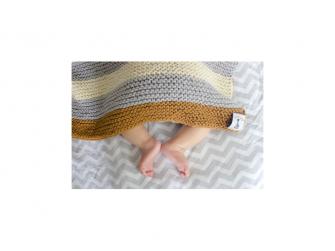 Dětská deka,Grey-Ivory-Tan 2