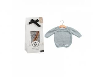 Dětský svetřík, Dove Grey