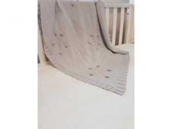 Pletená deka - star