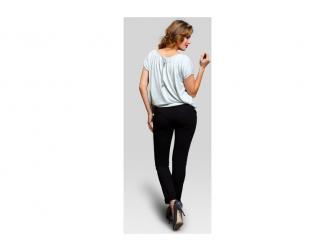 Těhotenské kalhoty Sugar black XL 3