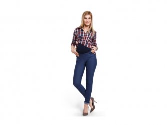 Těhotenské kalhoty Jeggings XL 2