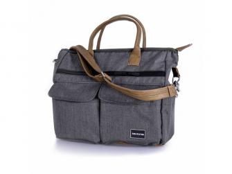 Přebalovací taška Melange Grey