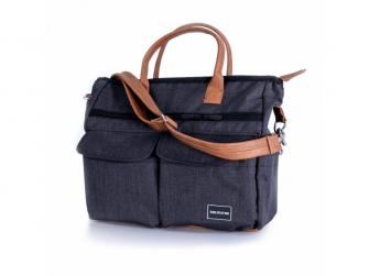 Přebalovací taška Melange Black