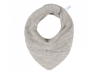 Bandana bib - pure grey