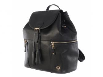 THOR BLACK - kožený batoh 2