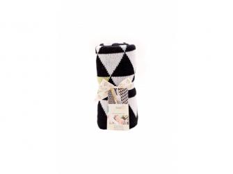 Pletená deka Triangles 4