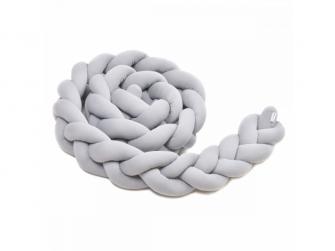 Pletený mantinel 360 cm, grey