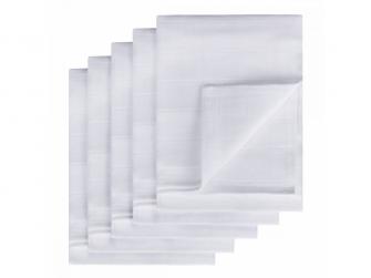 Látkové TETRA pleny, bílé 70x70, 5ks 2