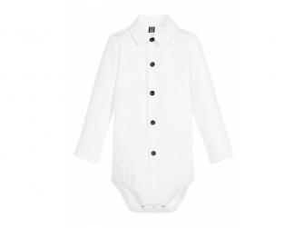 Body Tuxedo White 0 - 3 m.