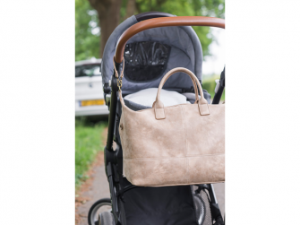Kabelka Diaper bag Lexie taupe 5