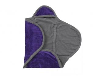 Zavinovačka do autosedačky Wrap 105x100cm Purple
