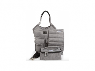 Přebalovací taška Barcelona Bag Heather Grey 2