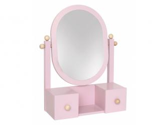 Zrcadlo růžové