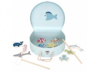 Rybářská hra s kufříkem