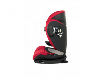 Autosedačka MAX SPACE ISOFIX 15-36 kg/100-150 cm červená 6