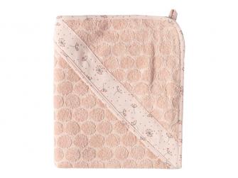 Ručník s kapucí froté Fabulous Wish Pink