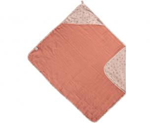 Mušelínový ručník s kapucí bambus Fabulous Wish Pink 2