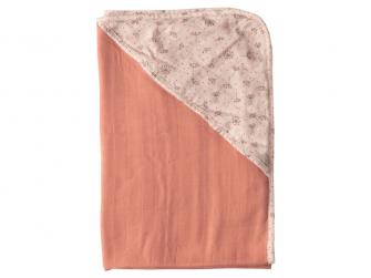 Mušelínový ručník s kapucí bambus Fabulous Wish Pink