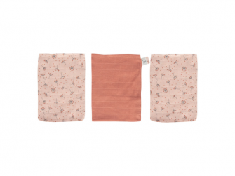 Mušelínové žínky Fabulous Wish Pink 3ks