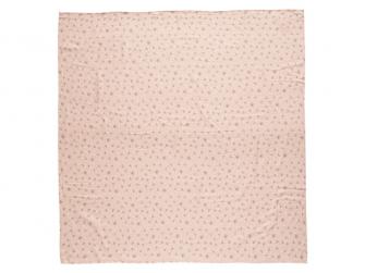 Mušelínová plenka 110x110 cm Fabulous Wish Pink 2