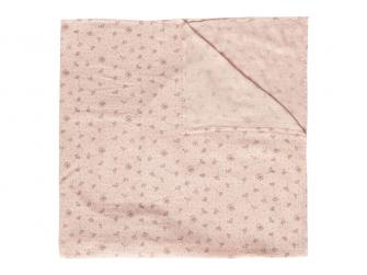 Mušelínová plenka 110x110 cm Fabulous Wish Pink