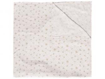 Mušelínová plenka 110x110 cm Fabulous Wish Grey
