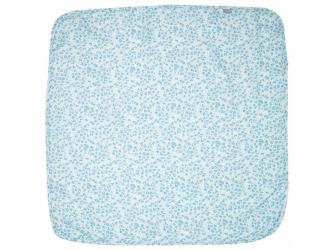 Mušelínová plenka 110x110 cm Leopard Blue