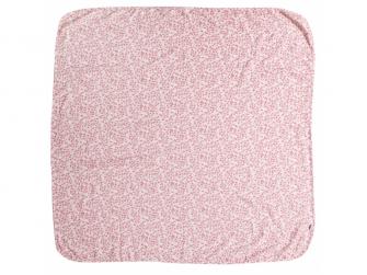 Mušelínová plenka 110x110 cm Leopard Pink