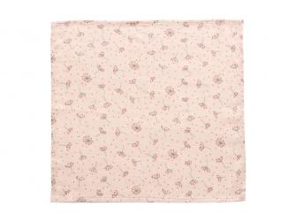 Mušelínová žínka na obličej 3ks Fabulous Wish Pink 3