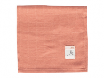 Mušelínová žínka na obličej 3ks Fabulous Wish Pink 5