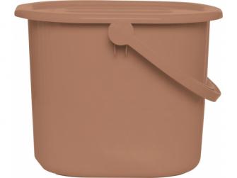 Kyblík na pleny s víkem Copper
