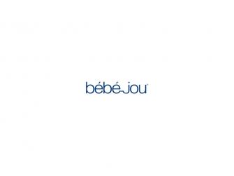 Hřeben a kartáč Bébé-Leopard Blue 2