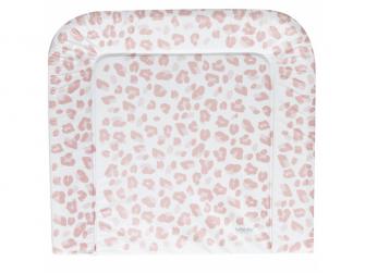 Přebalovaci podlozka třístranná Leopard Pink