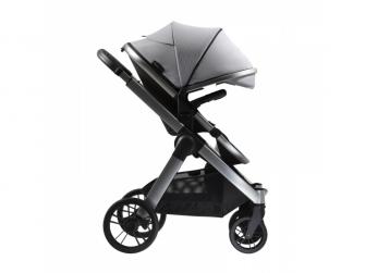 Raffi kočárek + korba + adaptéry, Vapour Grey 2021 11