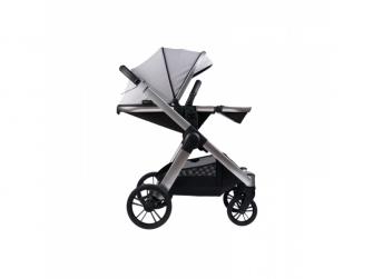 Raffi kočárek + korba + adaptéry, Vapour Grey 2021 12