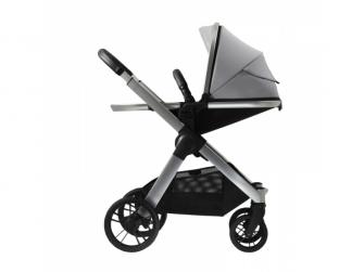 Raffi kočárek + korba + adaptéry, Vapour Grey 2021 13
