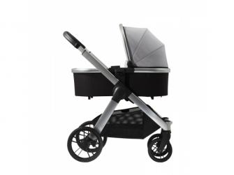 Raffi kočárek + korba + adaptéry, Vapour Grey 2021 2
