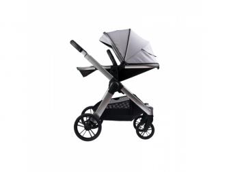 Raffi kočárek + korba + adaptéry, Vapour Grey 2021 5