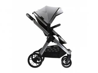 Raffi kočárek + korba + adaptéry, Vapour Grey 2021 7
