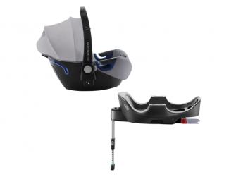 Autosedačka Baby-Safe 2 i-Size Bundle Flex, Grey Marble
