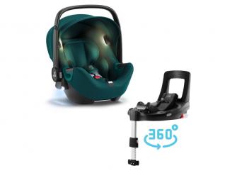 Autosedačka Baby-Safe iSense Bundle Flex iSense, Atlasntic Green